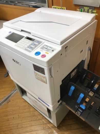 印刷機の貸出